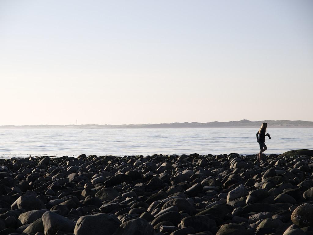 Fotograf - borestrand - Jæren - Norge - Foto - Strand - Rullestein